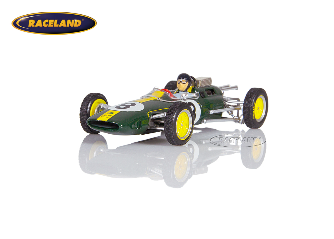Lotus 25 Climax V8 F1 Team Lotus winner Italian GP 1963 World Champion Jim Clark