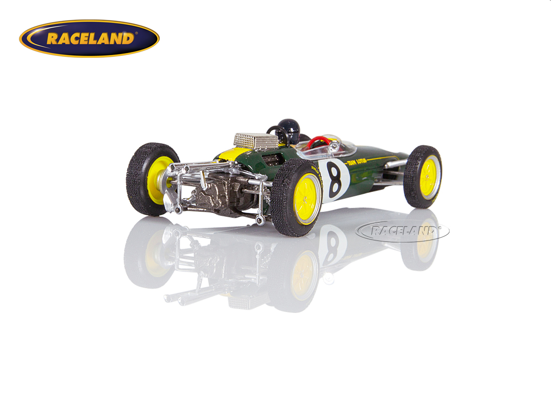 Lotus 25 Climax V8 F1 Team Lotus winner Italian GP 1963 World Champion Jim Clark Image 2