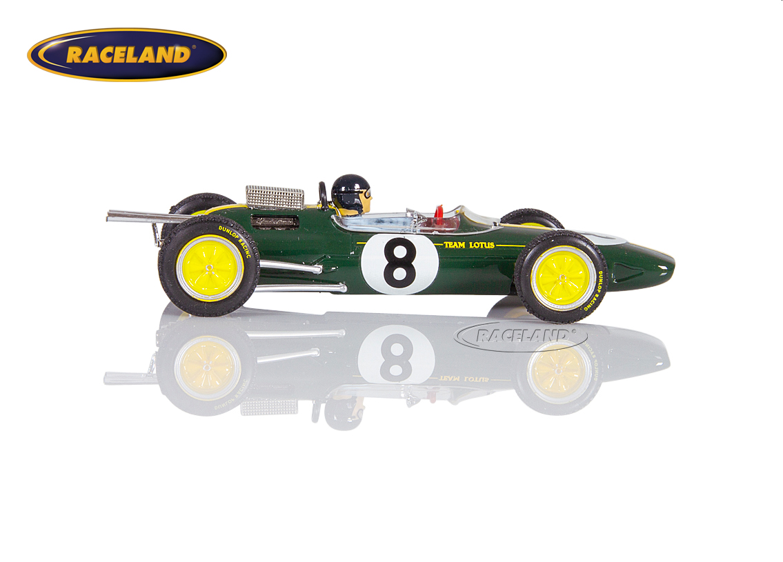 Lotus 25 Climax V8 F1 Team Lotus winner Italian GP 1963 World Champion Jim Clark Image 3