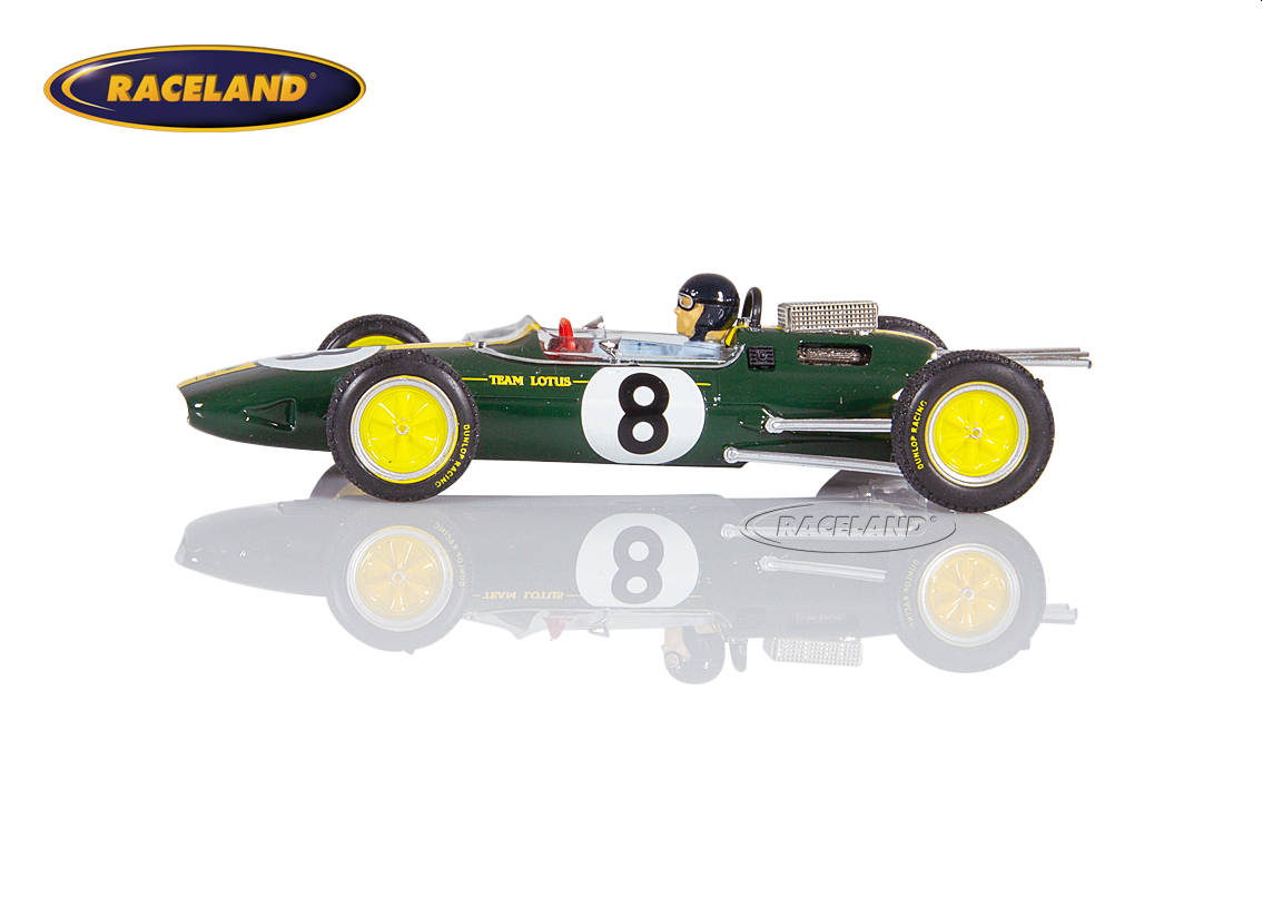 Lotus 25 Climax V8 F1 Team Lotus winner Italian GP 1963 World Champion Jim Clark Image 4