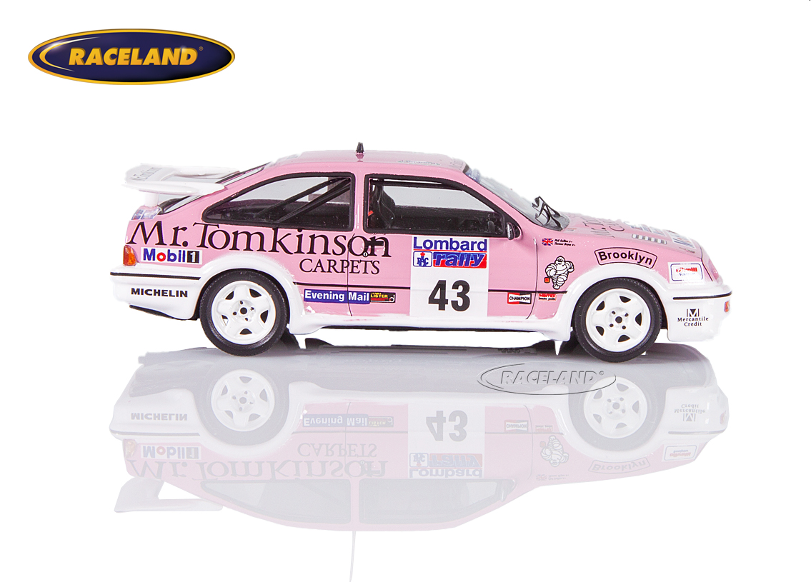 Ford Sierra RS Cosworth Mr.Tomkinson Carpets RAC Rallye 1988 Collins/Thomas Image 3