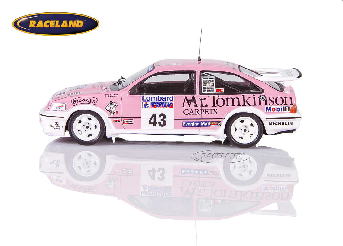 Ford Sierra RS Cosworth Mr.Tomkinson Carpets RAC Rallye 1988 Collins/Thomas Image 4