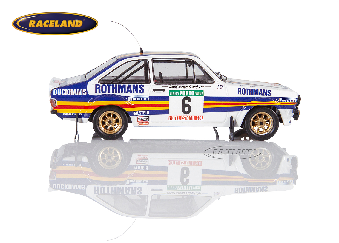 Ford Escort MkII RS1800 Rothmans Rally Team Portugal Rally 1981 Vatanen/Richards Image 3