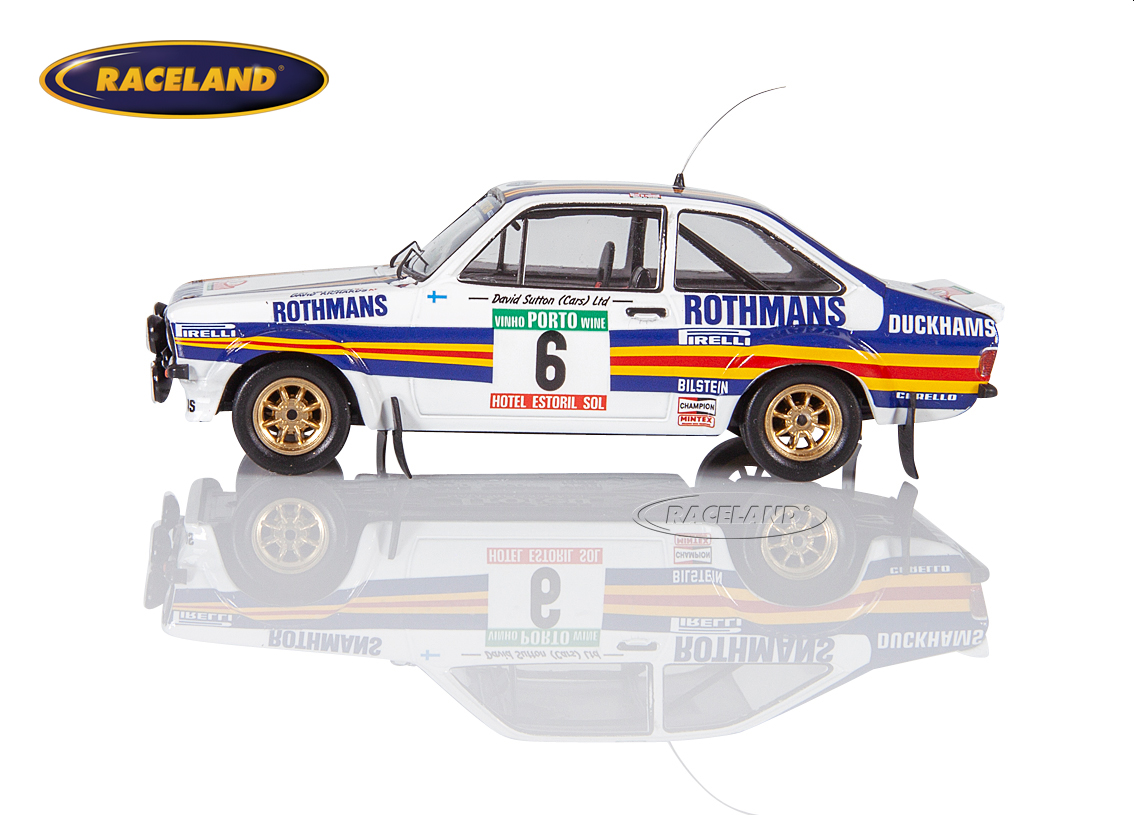 Ford Escort MkII RS1800 Rothmans Rally Team Portugal Rally 1981 Vatanen/Richards Image 4