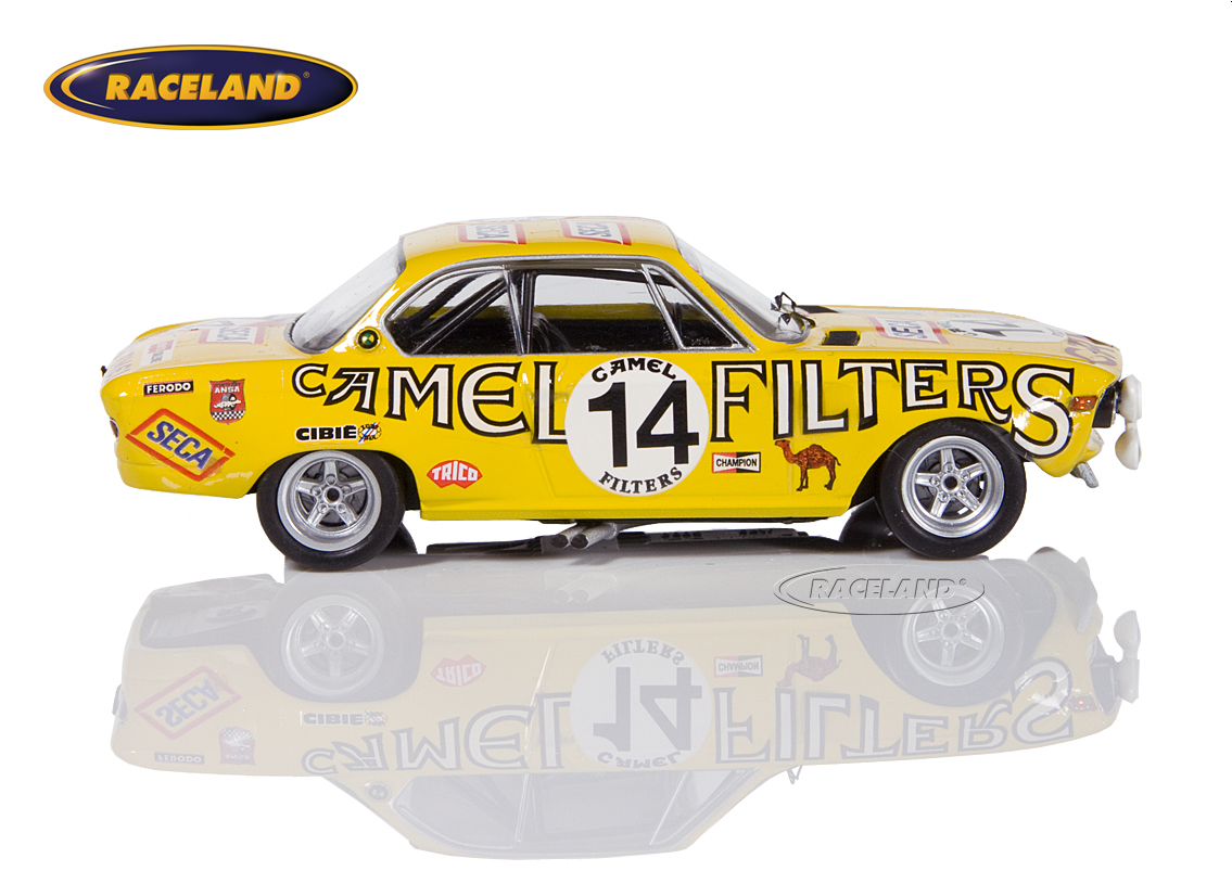 BMW 2800 CS Yellow Racing Team 24H Spa 1972 Toussaint/Haxhe Image 3