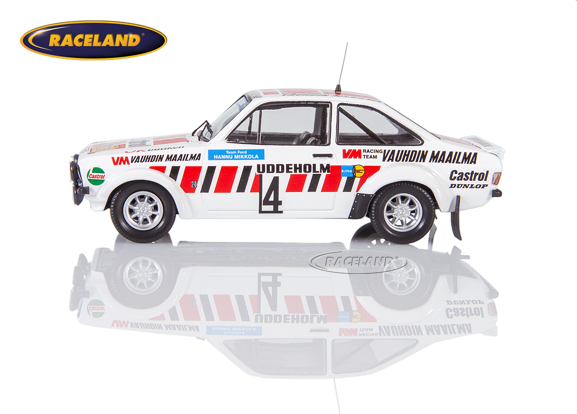 Ford Escort RS 1800 MkII Ford Motor Co. Castrol 5° Swedish Rally 1979 Mikkola/Hertz Image 4