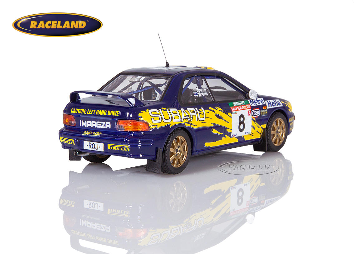 Subaru Impreza 555 Subaru Rally Team Australia 5° Rally New Zealand 1997 Peter Bourne, Craig Vincent Image 2