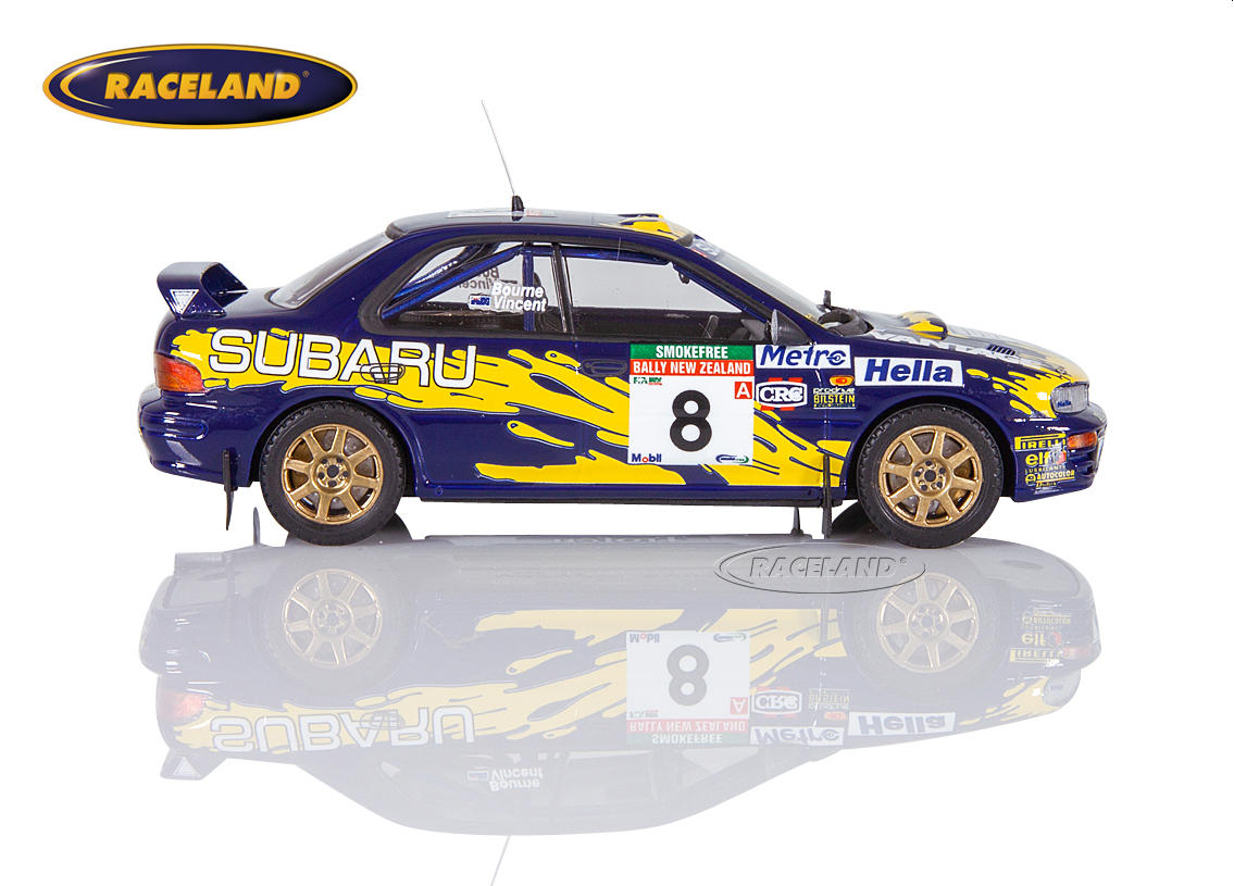 Subaru Impreza 555 Subaru Rally Team Australia 5° Rally New Zealand 1997 Peter Bourne, Craig Vincent Image 3