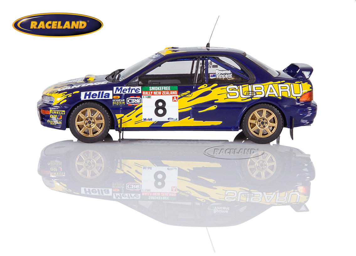 Subaru Impreza 555 Subaru Rally Team Australia 5° Rally New Zealand 1997 Peter Bourne, Craig Vincent Image 4