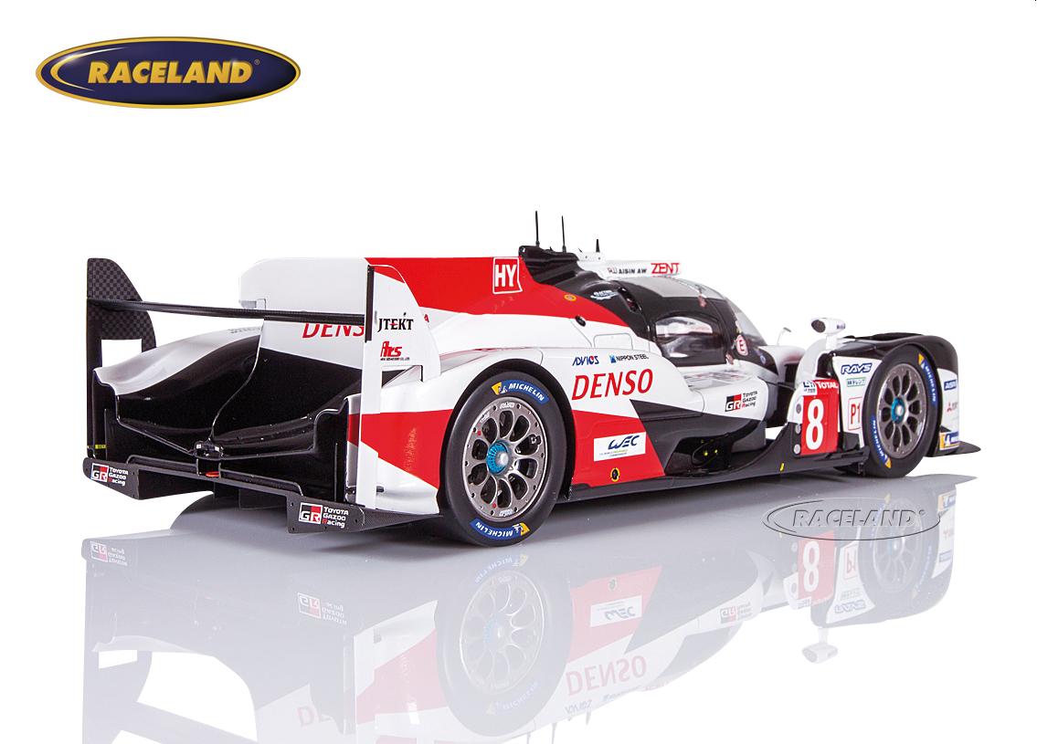 Toyota ts050 Hybrid winner 24h le mans 2019 buemi Nakajima alonso 1:87 Spark nuevo