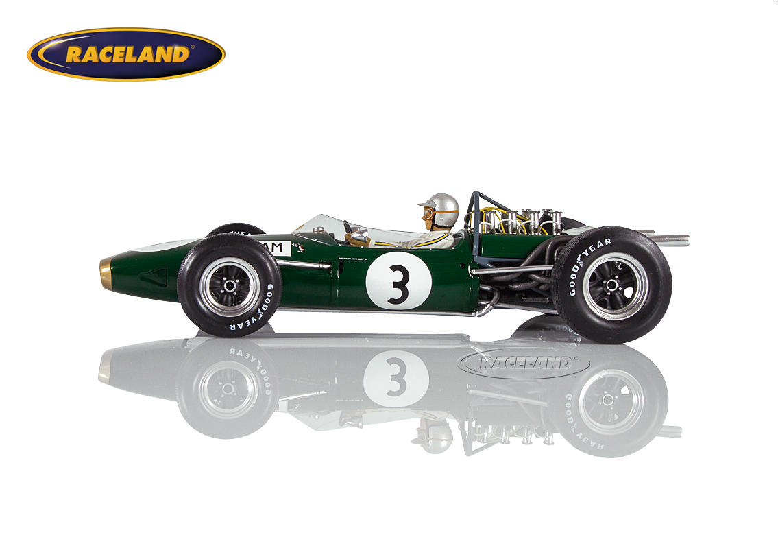 Brabham BT19 Repco V8 F1 winner German GP 1966 World Champion Jack Brabham Image 3