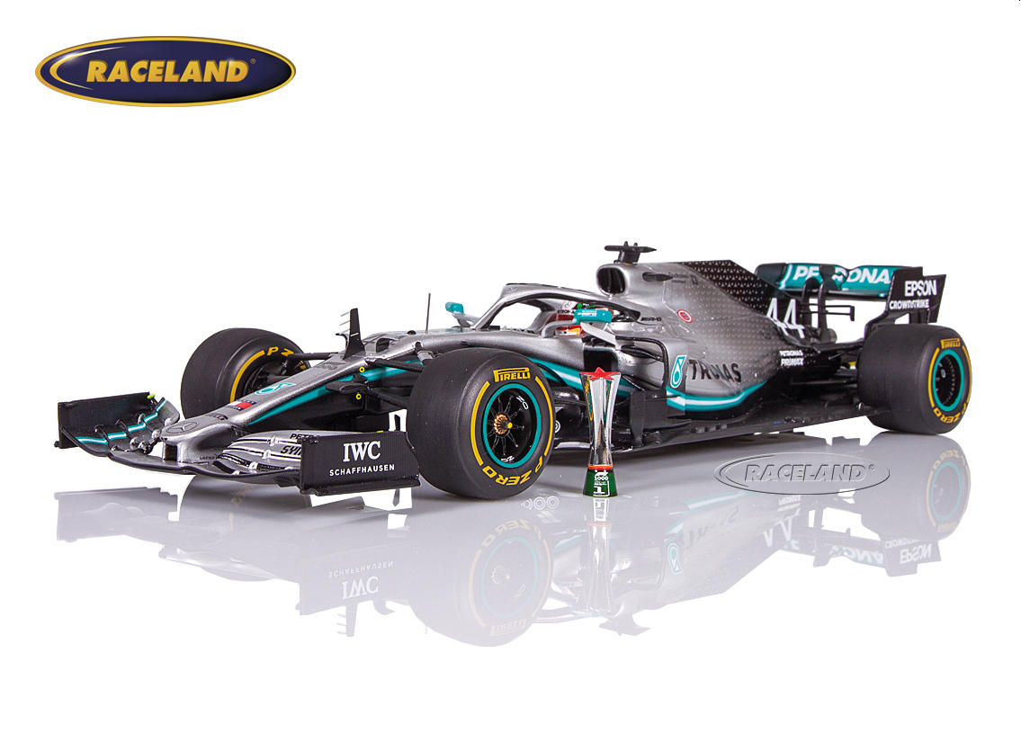 Mercedes AMG Petronas W10 EQ Power+ F1 winner Chinese GP 2019 World Champion Lewis Hamilton