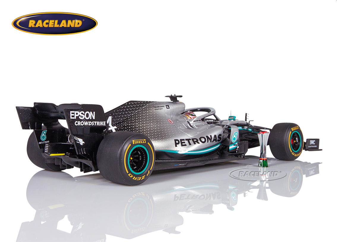 Mercedes AMG Petronas W10 EQ Power+ F1 winner Chinese GP 2019 World Champion Lewis Hamilton Image 2