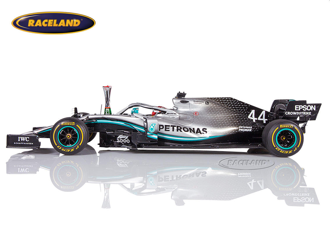 Mercedes AMG Petronas W10 EQ Power+ F1 winner Chinese GP 2019 World Champion Lewis Hamilton Image 3