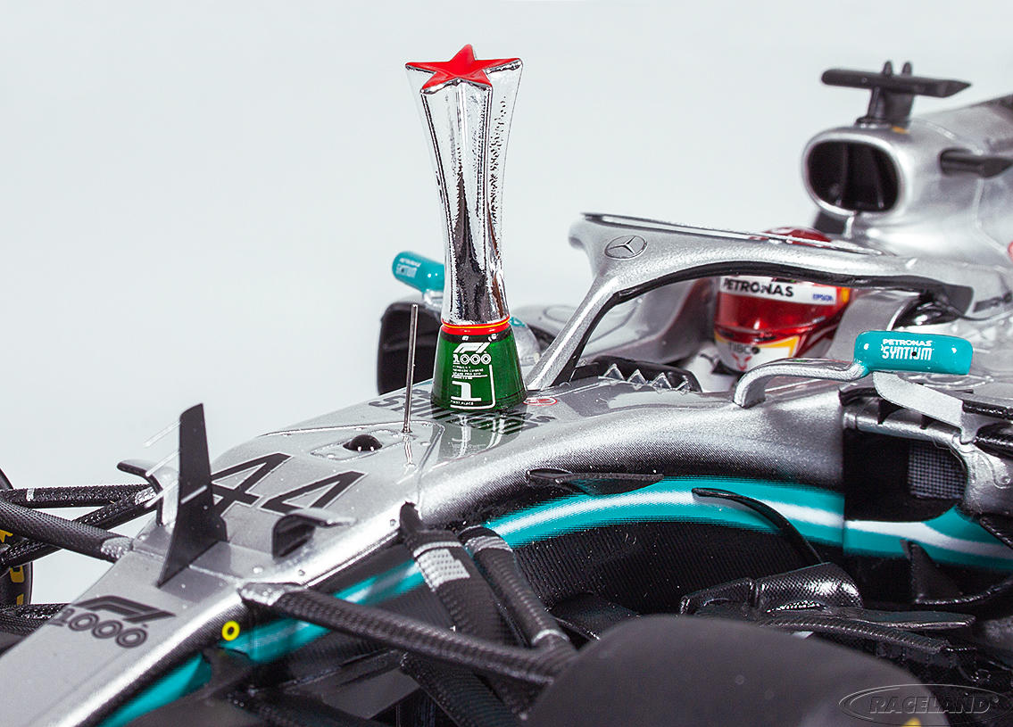 Mercedes AMG Petronas W10 EQ Power+ F1 winner Chinese GP 2019 World Champion Lewis Hamilton Image 4