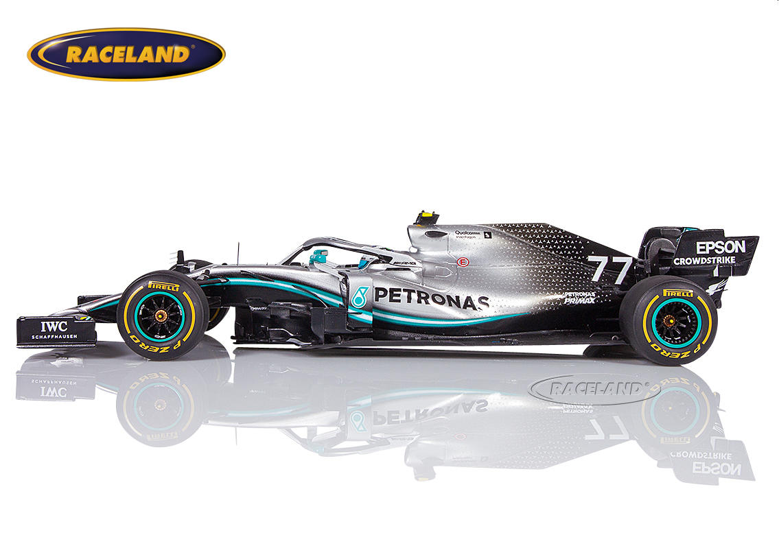 Mercedes AMG Petronas W10 EQ Power+ F1 2° winner Australian GP 2019 Valtteri Bottas Image 3