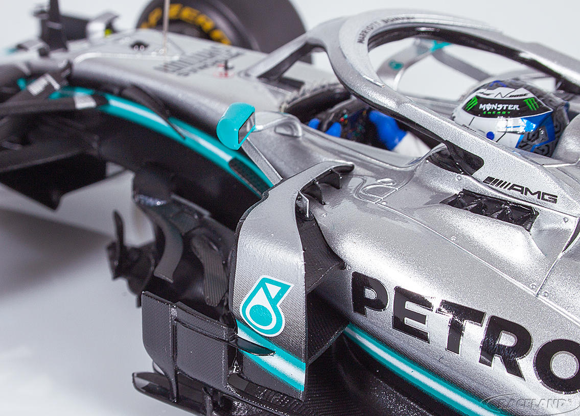 Mercedes AMG Petronas W10 EQ Power+ F1 2° winner Australian GP 2019 Valtteri Bottas Image 4
