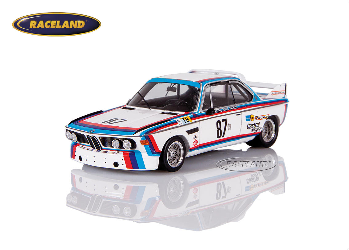 BMW 3.0 CSL 3.5 BMW Jolly Club Le Mans 1974 Finotto/Facetti/Mohr