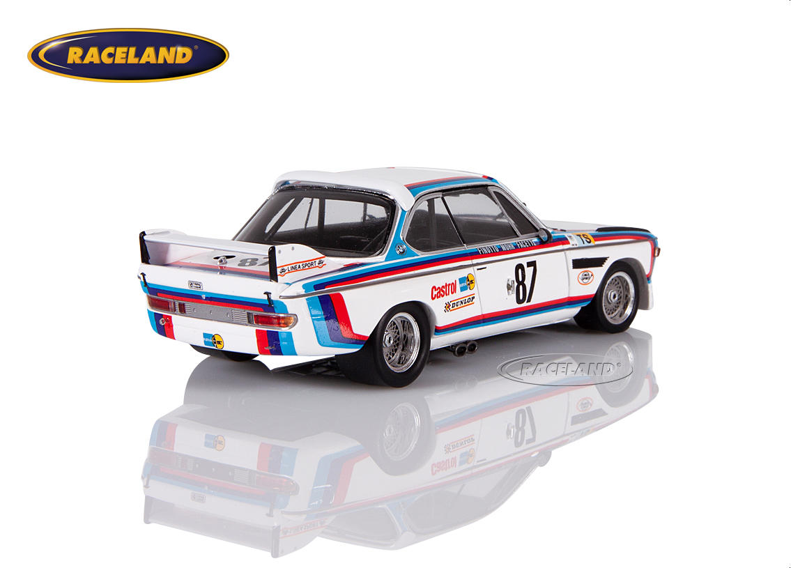 BMW 3.0 CSL 3.5 BMW Jolly Club Le Mans 1974 Finotto/Facetti/Mohr Image 2
