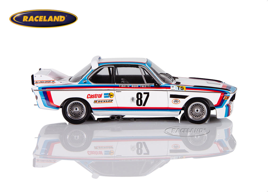 BMW 3.0 CSL 3.5 BMW Jolly Club Le Mans 1974 Finotto/Facetti/Mohr Image 3