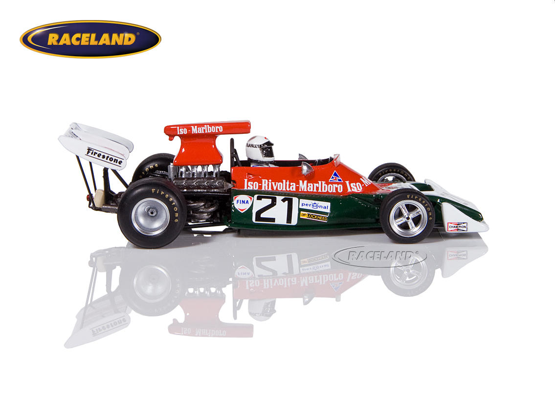 Iso FX3B Cosworth V8 F1 Iso Rivolta 10° South African GP 1973 Howden Ganley Image 3