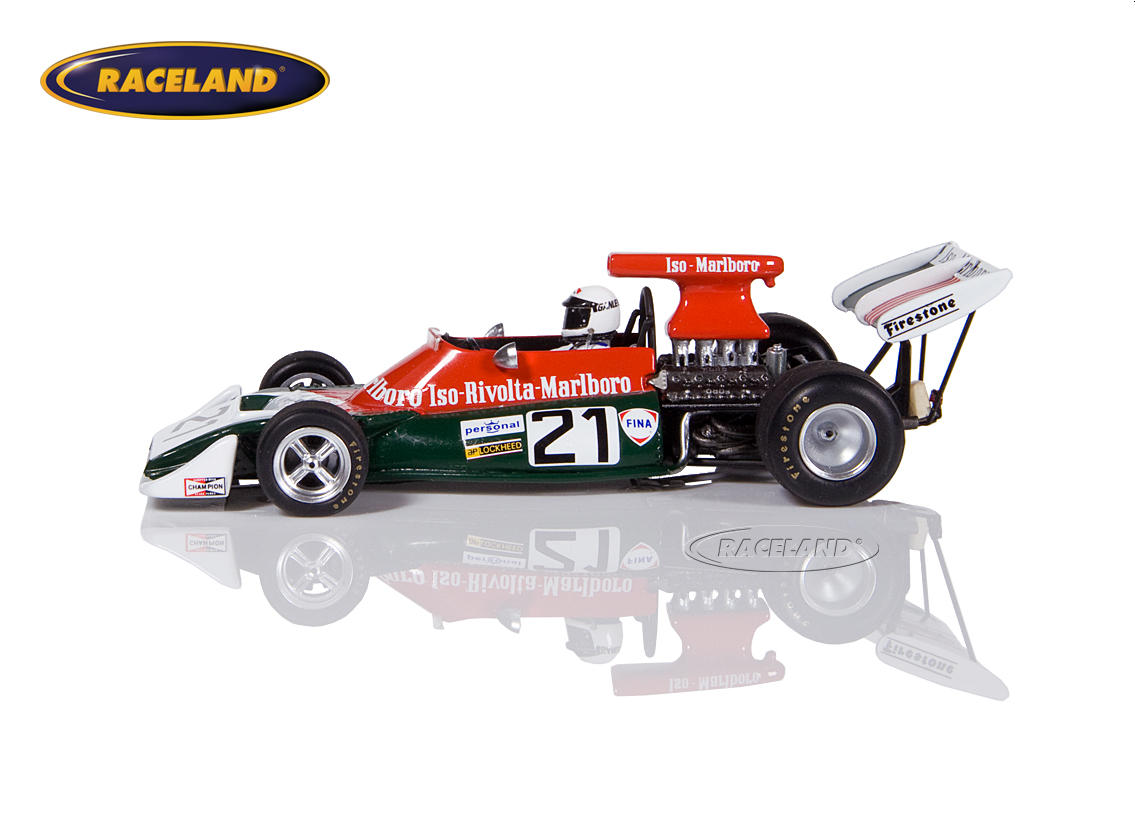 Iso FX3B Cosworth V8 F1 Iso Rivolta 10° South African GP 1973 Howden Ganley Image 4
