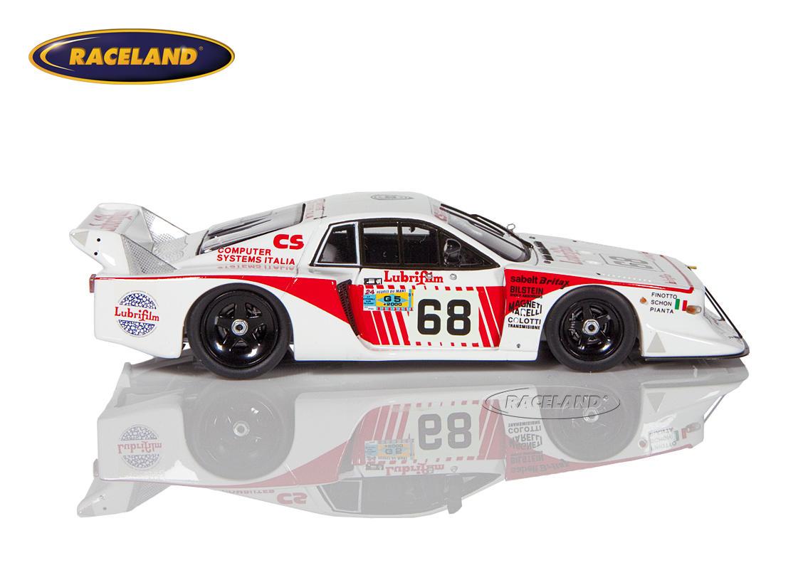 Lancia Beta Monte Carlo Jolly Club 14 U00b0 Le Mans 1981
