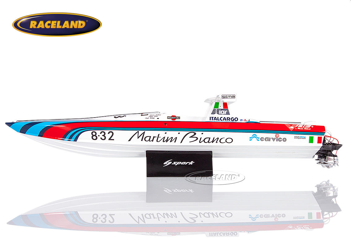Off Shore Powerboat 1987 Martini Bianco Racing Renato Molinari Image 3