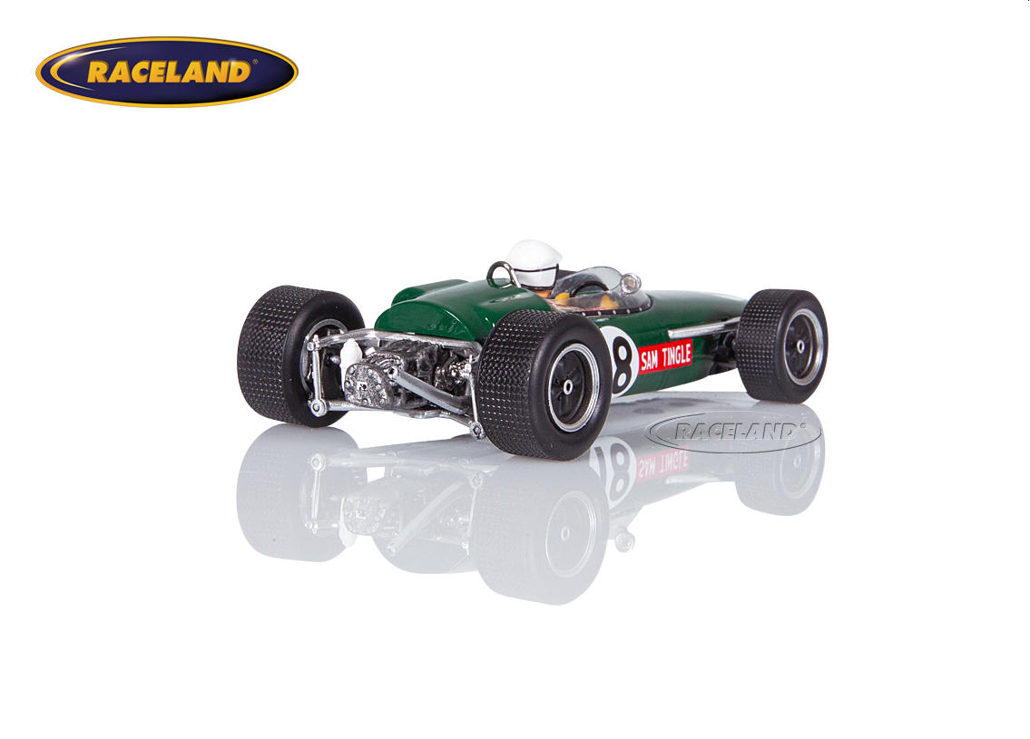 LDS Mk3 Climax F1 South African GP 1967 Sam Tingle Image 2