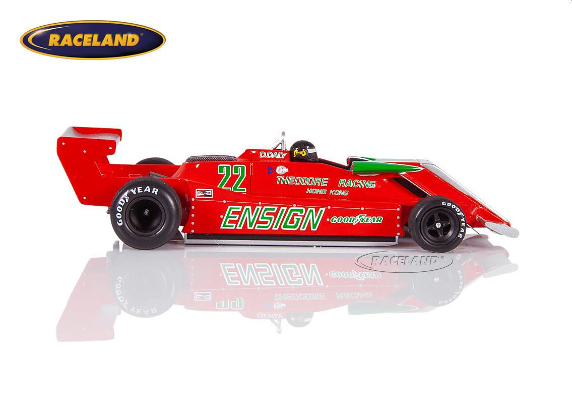 Ensign n179 ford derek Daly fórmula 1 practice sudáfrica 1979 1:43 Spark 3957 nuevo