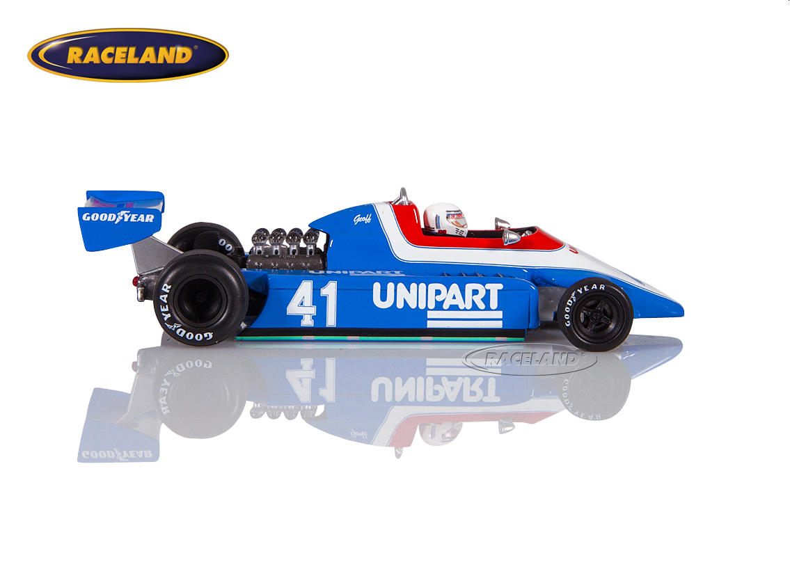 Ensign N180 Cosworth V8 F1 Unipart Racing Dutch GP 1980 Geoff Lees Image 3