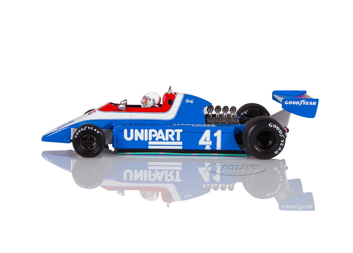 Ensign N180 Cosworth V8 F1 Unipart Racing Dutch GP 1980 Geoff Lees Image 4