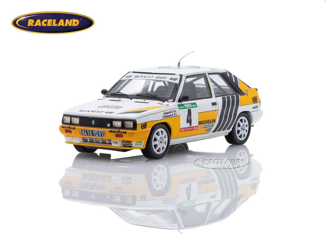 Renault 11 Turbo Renault Sport Elf 2 Rally Portugal 1987 Jean Ragnotti Pierre Thimonier Scale 1 43rd 1980 1989 Rally Wrc Motorsports