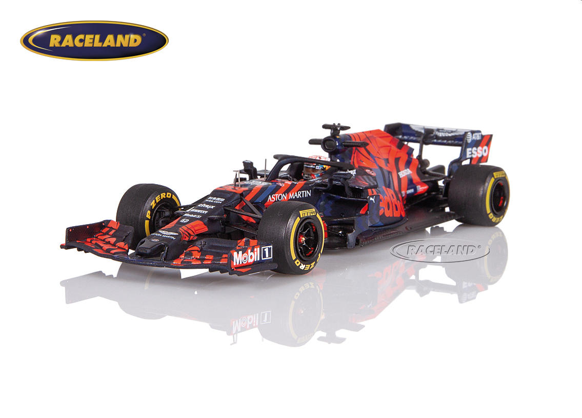 Aston Martin Red Bull TAG Heuer Honda RB15 F1 tests Silverstone 2019 Max Verstappen