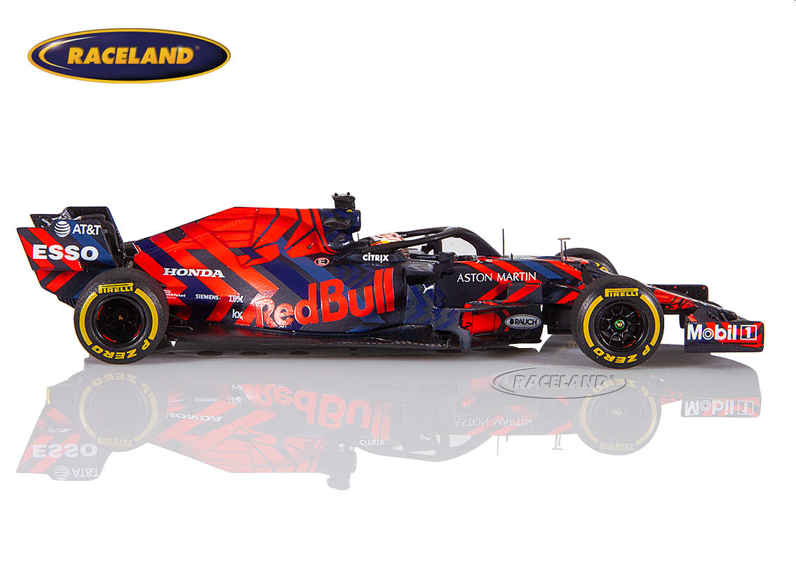 Aston Martin Red Bull TAG Heuer Honda RB15 F1 tests Silverstone 2019 Max Verstappen Image 3