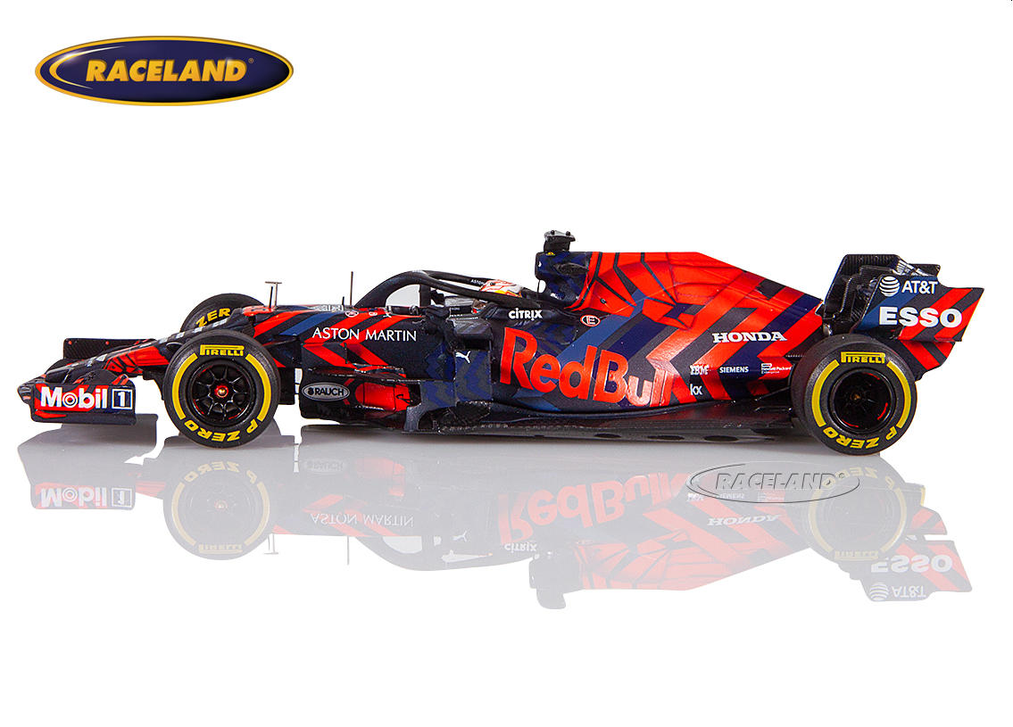 Aston Martin Red Bull TAG Heuer Honda RB15 F1 tests Silverstone 2019 Max Verstappen Image 4