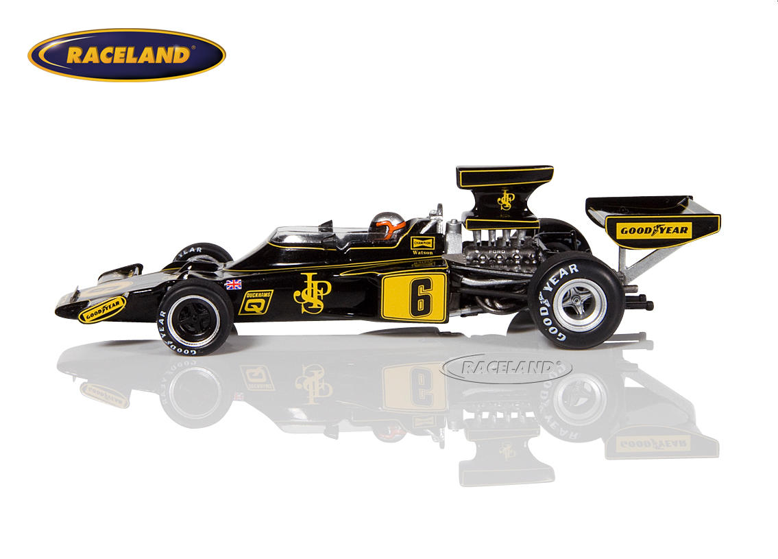 Lotus 72F Cosworth V8 F1 John Player Special German GP 1975 John Watson Image 4