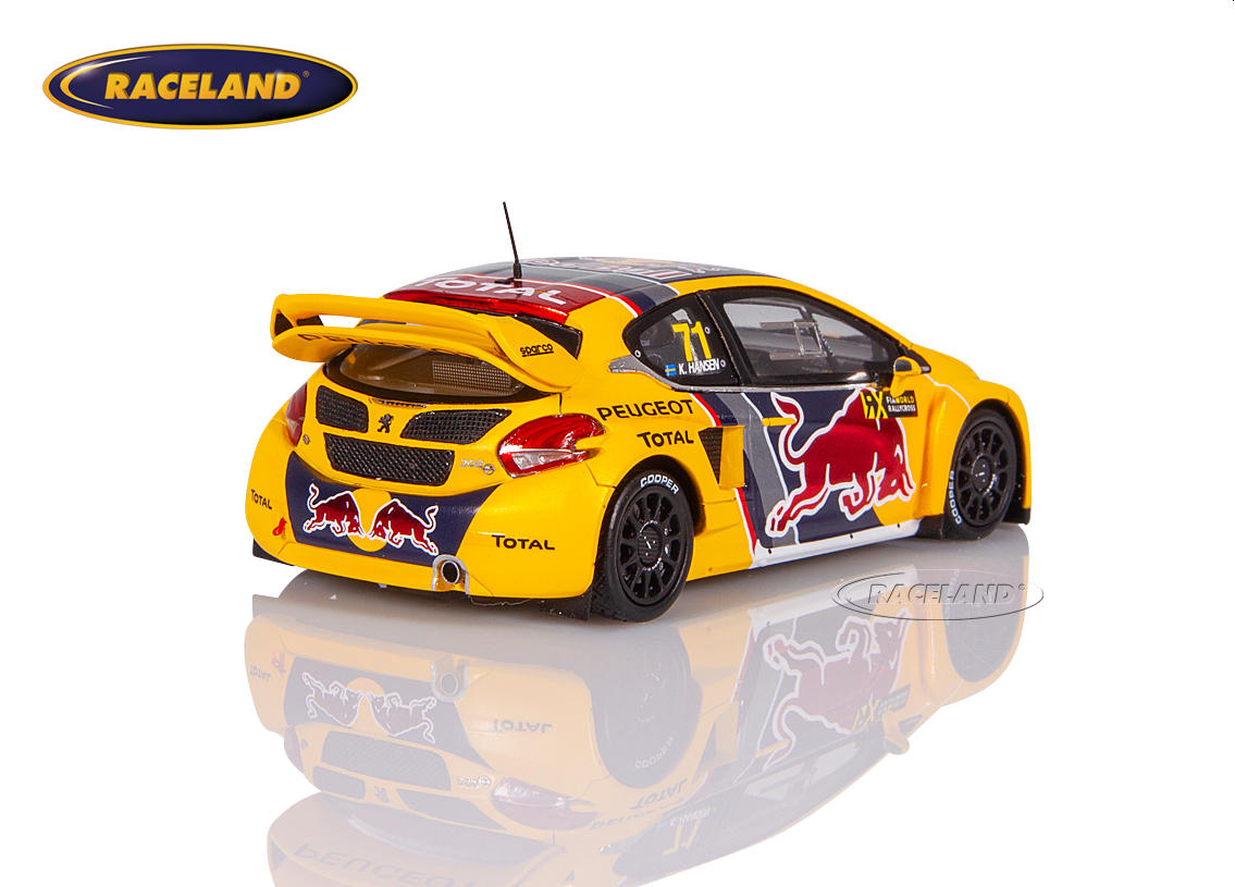 Peugeot 208 WRX Red Bull Peugeot Total WRX Great Britain 2018 Kevin Hansen Image 2