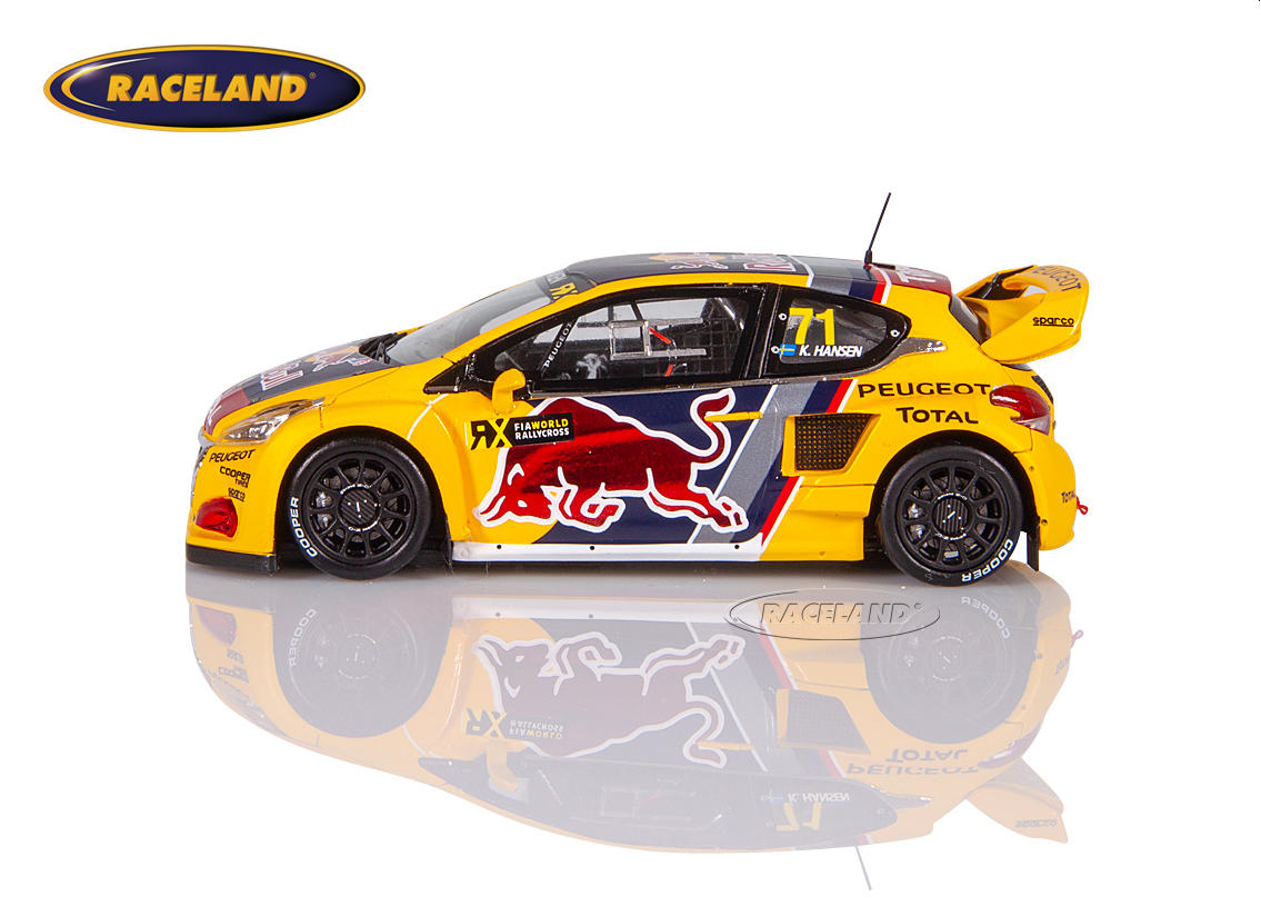 Peugeot 208 WRX Red Bull Peugeot Total WRX Great Britain 2018 Kevin Hansen Image 4