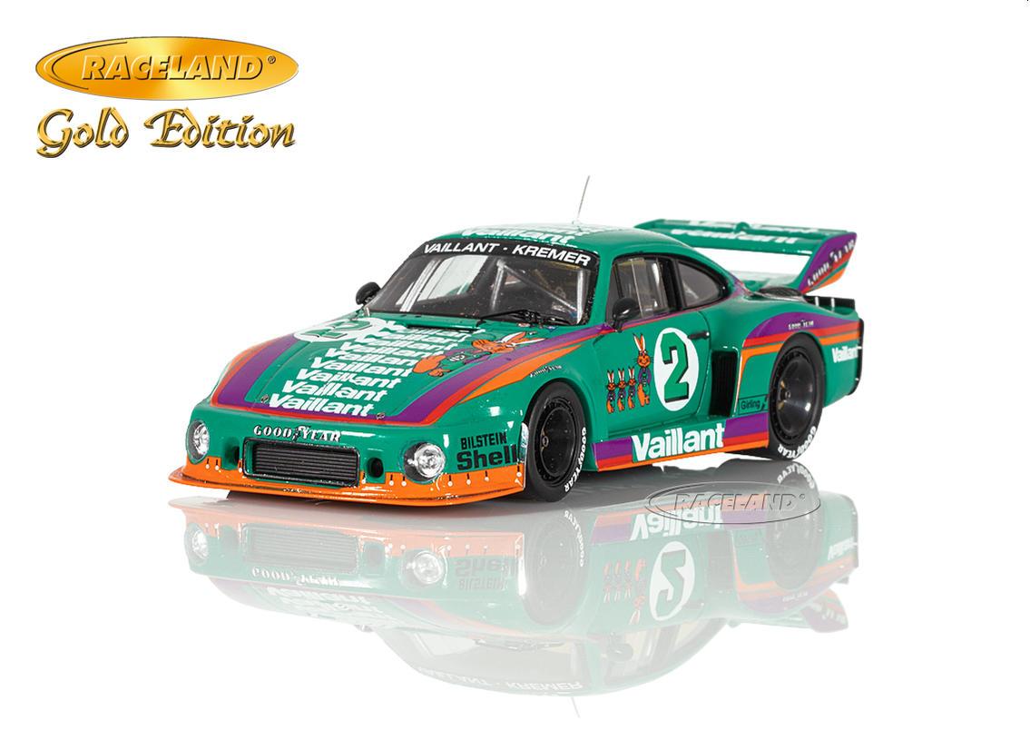 Porsche 935 77 Vaillant Kremer 3 Drm Norisring 1978 Bob Wollek Scale 1 43rd Gold Edition Motorsports