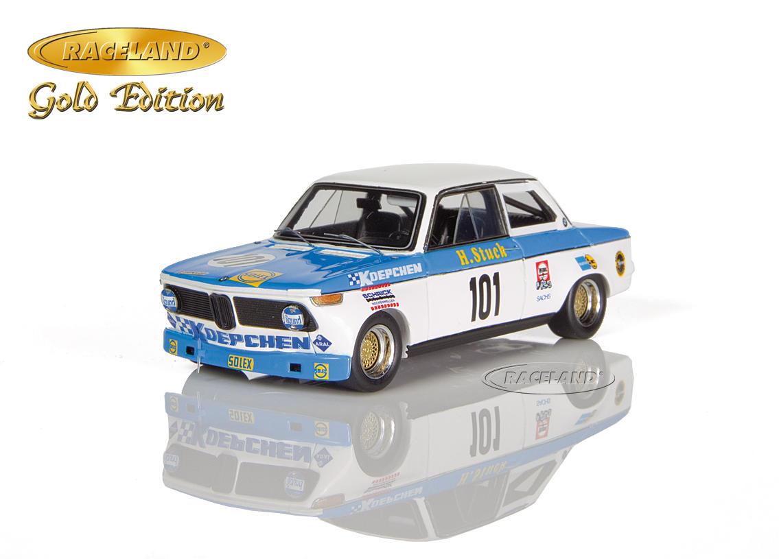 Bmw 2002 Koepchen Bmw Tuning Solex Adac 500 Km Nurburgring 1971 Hans Joachim Stuck Scale 1 43rd Gold Edition Motorsports