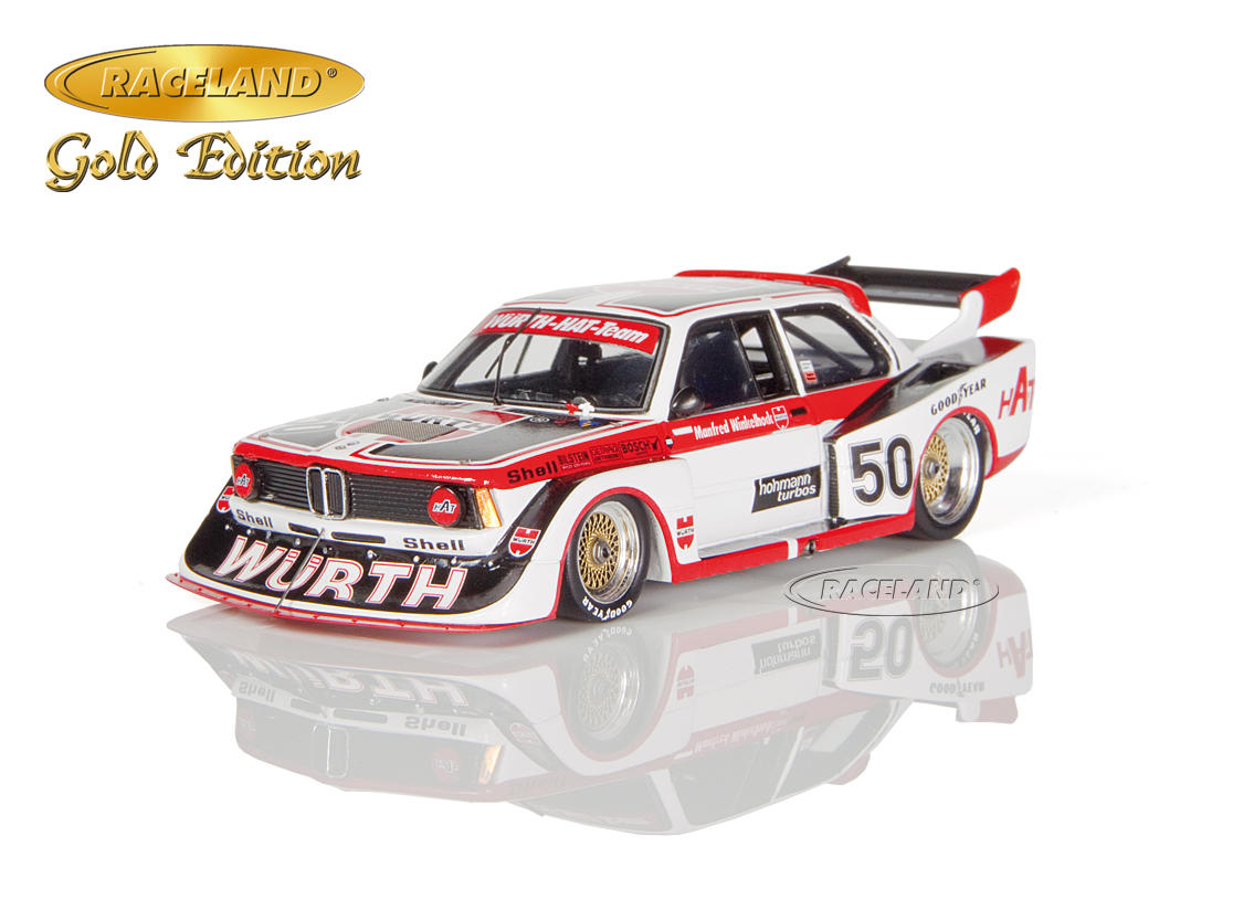 BMW 320 Turbo Würth HAT DRM Norisring Div. 2 1978 Manfred Winkelhock