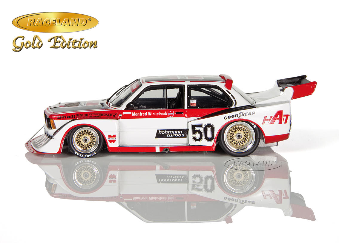 BMW 320 Turbo Würth HAT DRM Norisring Div. 2 1978 Manfred Winkelhock Image 4