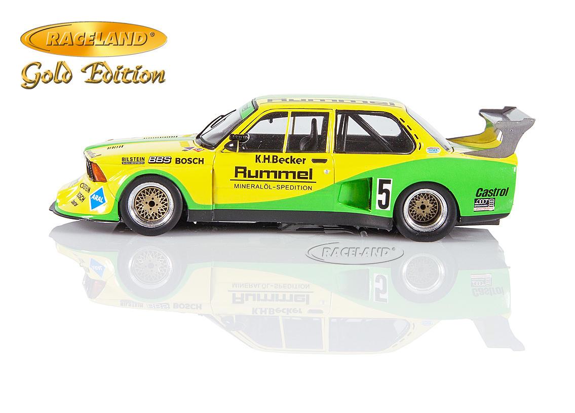 BMW 320 E21 Turbo Gr.5 DRM Norisring 1981 #5 K.H Becker Rummel Aral Spark 1:43