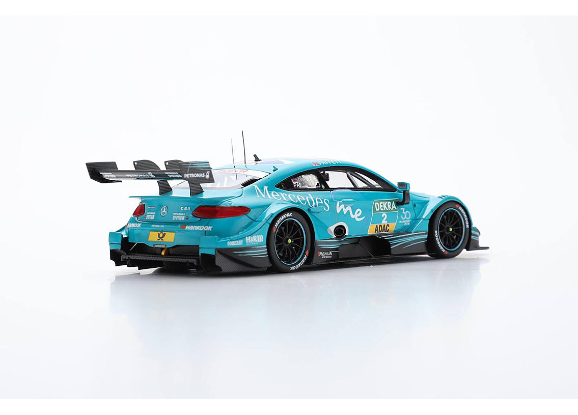 mercedes amg c63 dtm team hwa mercedes me adapter dtm champion 2018 gary paffett scale 1 43rd. Black Bedroom Furniture Sets. Home Design Ideas