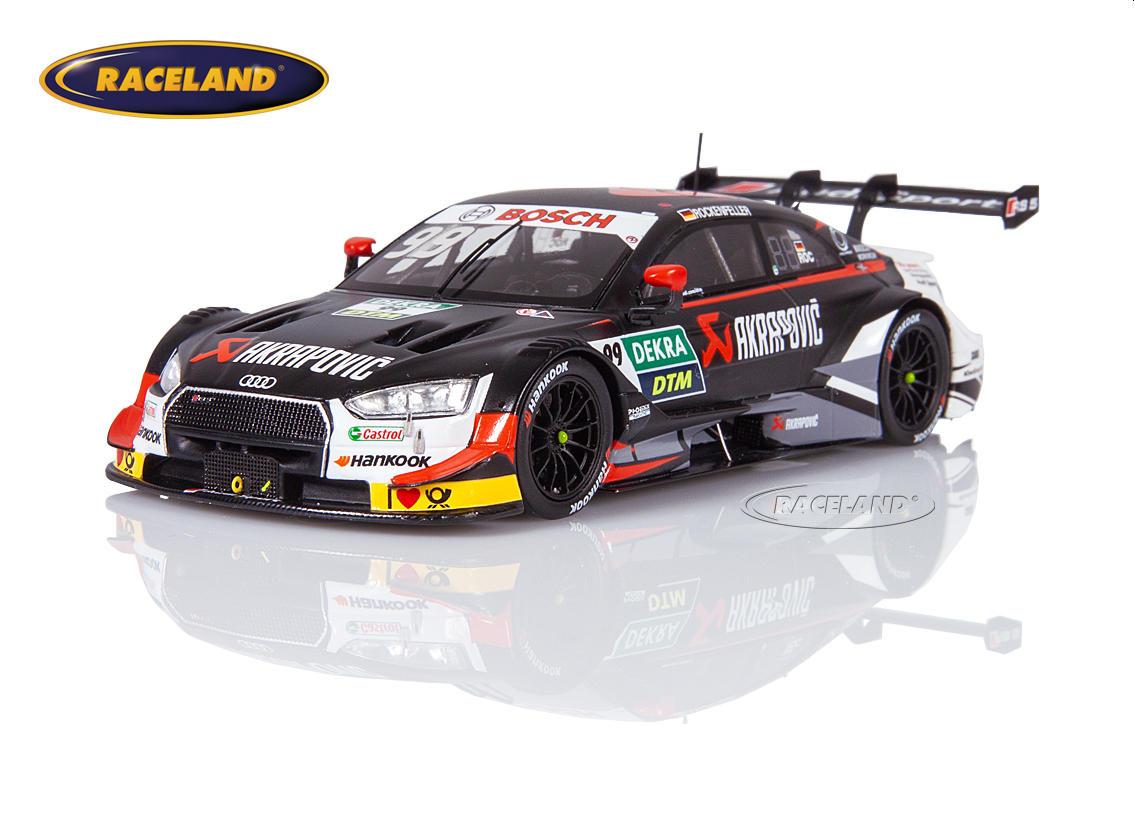Spark 1:43 sg451 Audi rs5 DTM equipo phoenix akrapovic DTM 2019 Mike Rockenfeller