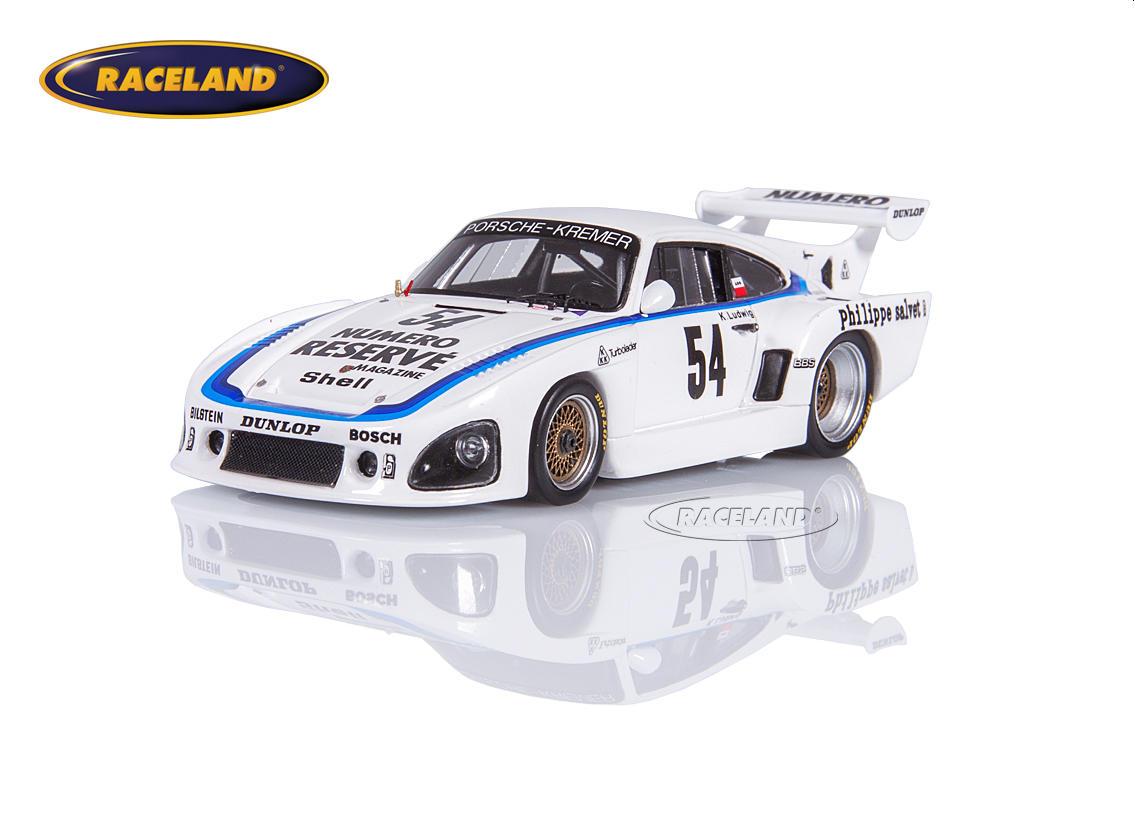 Porsche 935 K3 Kremer Racing Numero Reserve Winner Drm Zolder Bergischer Lowe 1979 Klaus Ludwig Scale 1 43rd 1975 1979 24h Le Mans Motorsports