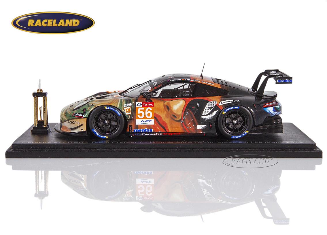 Spark 1:43 Porsche 911 RSR LMGTEAm 1° Le Mans 2019 Bergmeister//Lindsey//Perfetti
