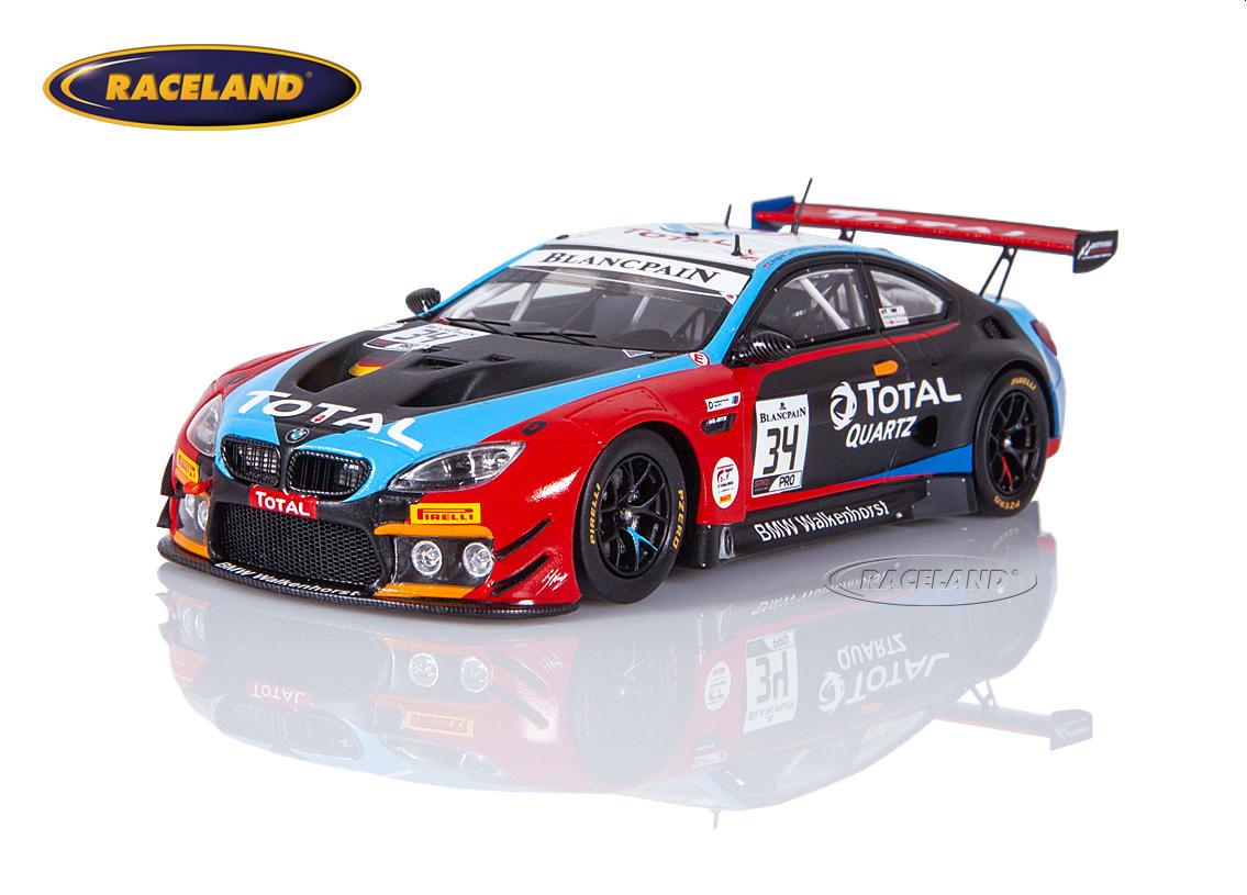 Bmw M6 Gt3 Walkenhorst Motorsport 11 Spa 24h 2019 Jensen Krognes