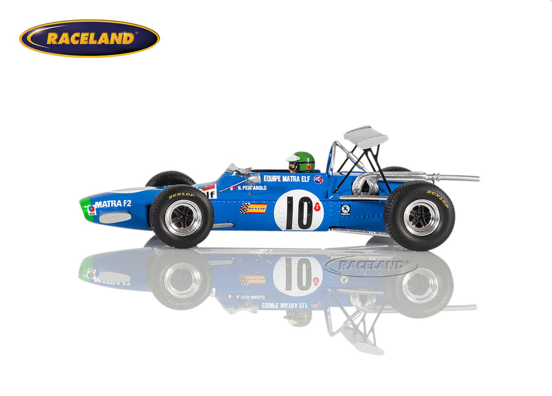 Matra MS7 Cosworth FVA F2 Matra Sports winner F2 GP Albi 1968 Henri Pescarolo Image 4
